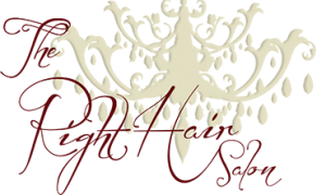 The Right Hair Salon Logo